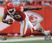 Dwayne Bowe 2010 Action Fine Art Print