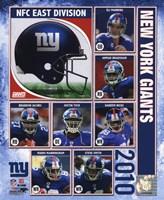 "8"" x 10"" New York Giants"