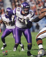 Jared Allen 2010 Action Fine Art Print
