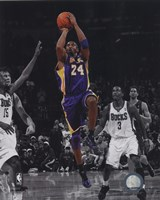 Kobe Bryant 2010-11 Spotlight Action Fine Art Print