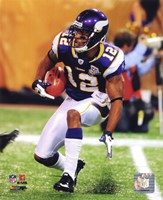 Percy Harvin 2010 Action Fine Art Print