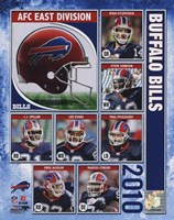 2010 Buffalo Bills Team Composite Fine Art Print