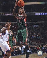 Brandon Jennings 2010-11 Action Fine Art Print