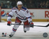 Sean Avery 2010-11 Action Fine Art Print