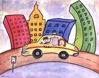 Taxi Cab Fine Art Print