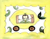 "Lemmon Carriage by Serena Bowman - 14"" x 11"""