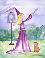 """Morning Princess by Serena Bowman - 11"""" x 14"""""""