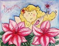 Hibiscus with Blonde Fine Art Print