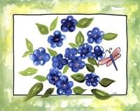 Petunia in Spring Fine Art Print
