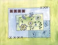 "Grow by Serena Bowman - 14"" x 11"" - $13.99"