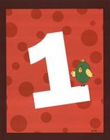 "Jungle Countdown #1 by Serena Bowman - 11"" x 14"", FulcrumGallery.com brand"