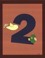 "Jungle Countdown #2 by Serena Bowman - 11"" x 14"""