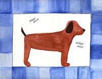 "Woof Woof by Serena Bowman - 14"" x 11"" - $13.99"