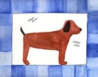 "Woof Woof by Serena Bowman - 14"" x 11"""