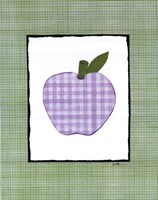 "Patchwork Apple by Serena Bowman - 11"" x 14"", FulcrumGallery.com brand"