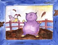 "Pig Pen by Serena Bowman - 14"" x 11"" - $13.99"