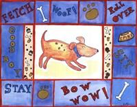Weenie Dogs Friend Fine Art Print