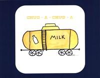Train Set - Milk Fine Art Print