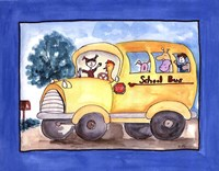 School Bus Fine Art Print