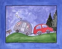"Camping Trip by Serena Bowman - 14"" x 11"""