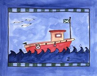 Tugboat Fine Art Print