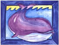 "Big One - Whale by Serena Bowman - 14"" x 11"""