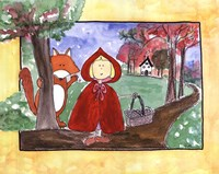 Little Red Riding Hood Fine Art Print