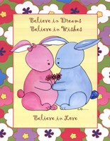 "Believe in Love by Serena Bowman - 11"" x 14"""