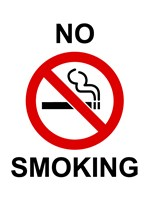 No Smoking - sign Fine Art Print