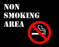 Non Smoking Area Fine Art Print
