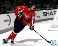 Nicklas Backstrom 2010-011 Spotlight Action Fine Art Print