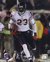 Devin Hester sets an NFL Record with his 14th Career Return for a Touchdown Fine Art Print