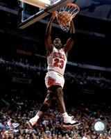 Michael Jordan 1996 Action Fine Art Print