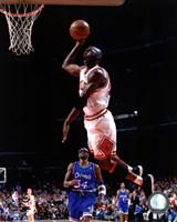 Michael Jordan 1994-95 in Action Framed Print
