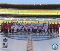 The Washington Capitals Team Photo 2011 NHL Winter Classic Fine Art Print
