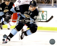 Sidney Crosby 2011 NHL Winter Classic Action Fine Art Print