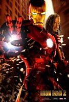 Iron Man 2 Transformation Fine Art Print