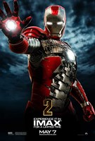 """Iron Man 2 Red Suit - 11"""" x 17"""""""