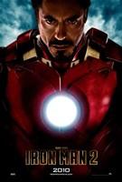 Iron Man 2 2010 Framed Print