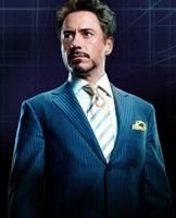 Iron Man 2 Robert Downey Jr. Framed Print