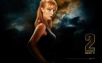 Iron Man 2 Pepper Potts Wall Poster