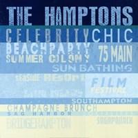The Hamptons Fine Art Print