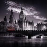 London Bus IV Framed Print