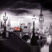 London Bus III Fine Art Print