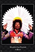 Jimi Hendrix Fan Portrait Wall Poster