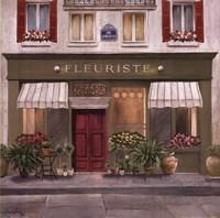 French Store II Framed Print