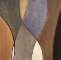 "Coalescence, Earthtones II - detail by Lanie Loreth - 24"" x 24"""
