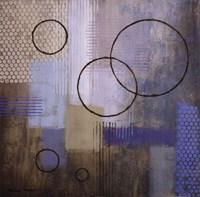 Rain Abstract I Framed Print