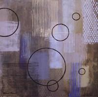 Rain Abstract II Framed Print