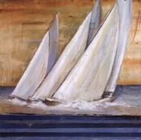 "Veleros II by Patricia Pinto - 24"" x 24"" - $18.99"
